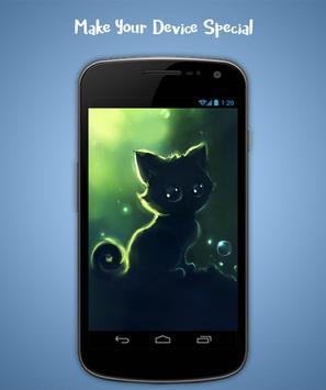 Cat Live Wallpaper screenshot 4