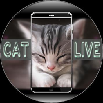 Cat Live Wallpaper screenshot 5