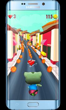 Talking Cat Games-Gold Run poster