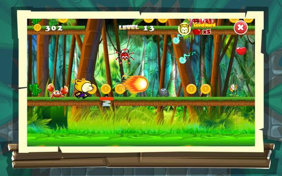 cat world jungle adventure apk screenshot