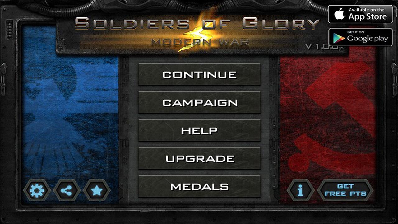 glory of generals 2 unlimited medals apk