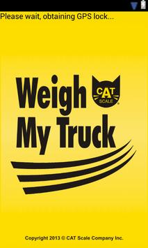 Weigh My Truck الملصق