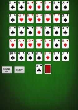 Golf Solitaire [card game] apk screenshot