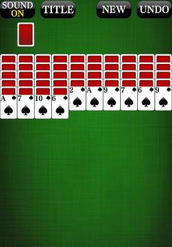 Spider Solitaire 3 [card game] apk screenshot