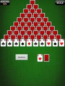 Pyramid 3 [card game] apk screenshot