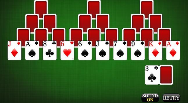 Tri Peaks [card game] apk screenshot