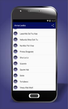 Anna Lesko All Songs screenshot 1