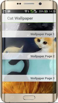 Cats 3D Wallpaper poster