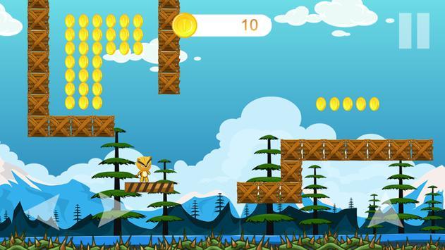 Cat World - jungle adventure & super world screenshot 1