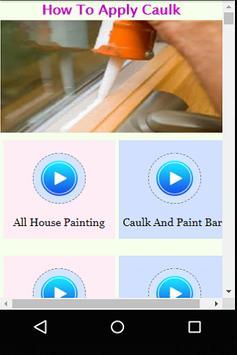 How to Apply Caulk apk screenshot