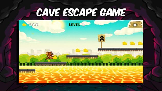 Cave Tom Escape Fun Jerry Game apk screenshot