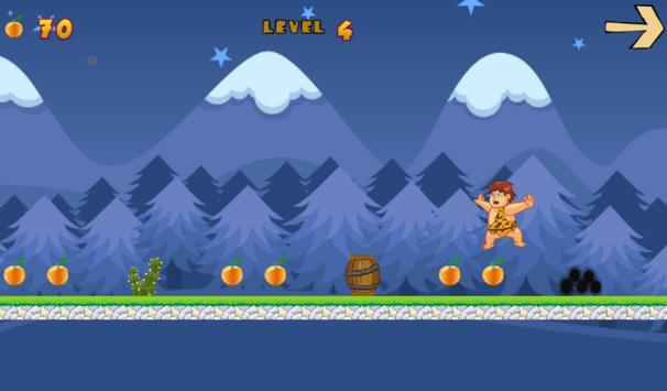 Caveman orange collector apk screenshot