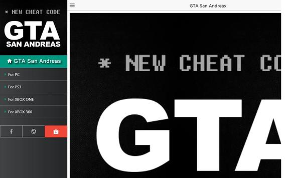 New Cheats for GTA San Andreas for Android - APK Download