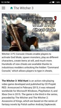 The witcher 2 cheats