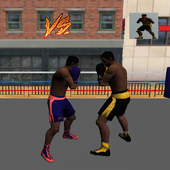 street battles boxing icon