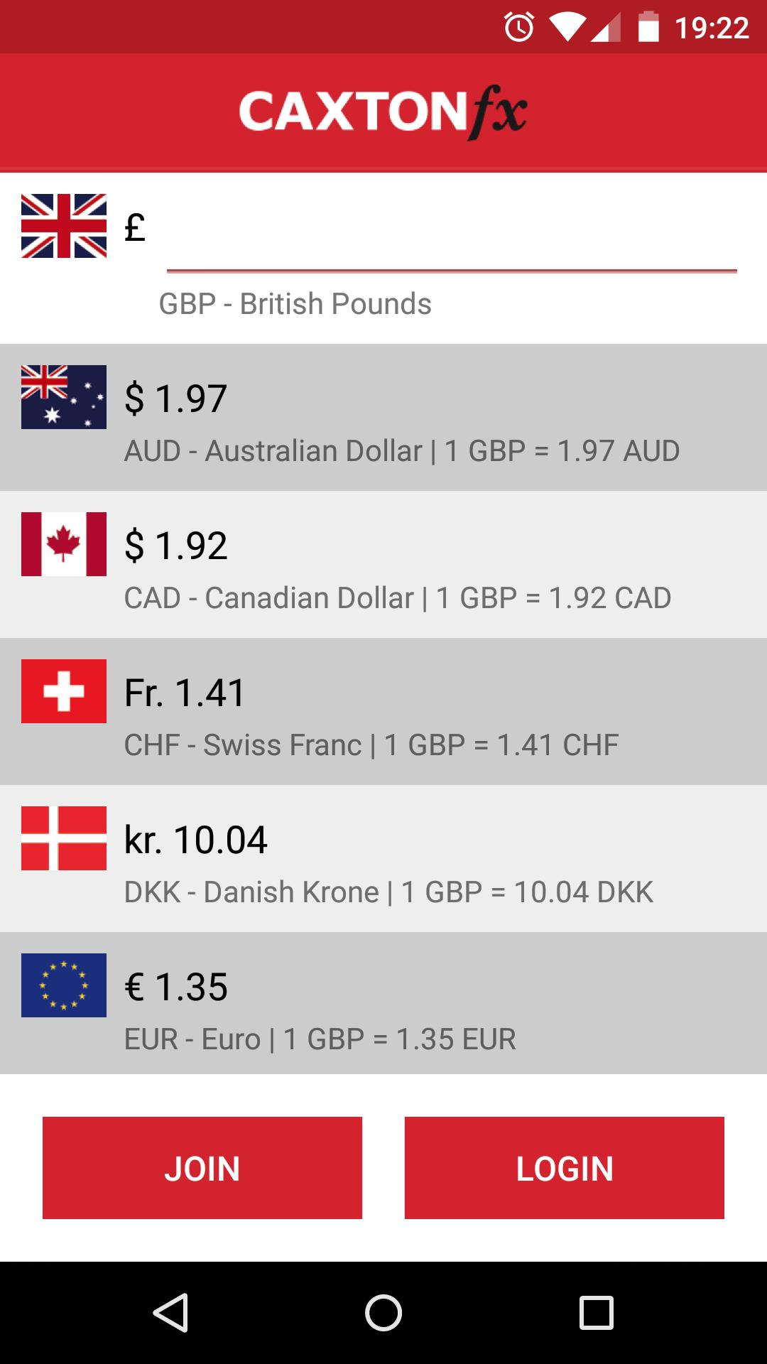 Caxton FX - MasterCard Holders for Android - APK Download