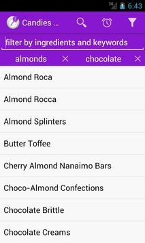 Homemade Candies Recipes apk screenshot