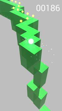 Ball Zigzag Runner screenshot 1