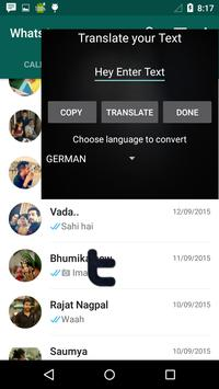 What App Language Translator poster