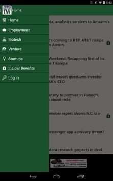 WRAL TechWire apk screenshot