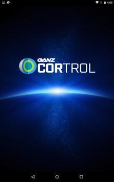 GANZ CORTROL Mobile App poster
