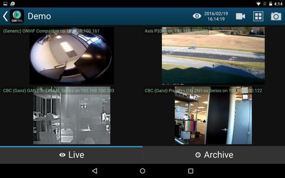 GANZ CORTROL Mobile App apk screenshot