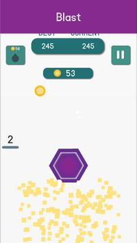 Six - Infinity Hexagon Puzzle Game apk screenshot