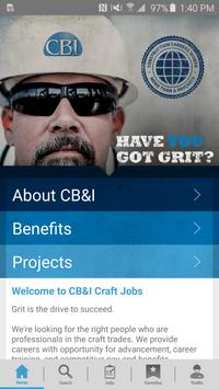 CB&I Craft Jobs poster