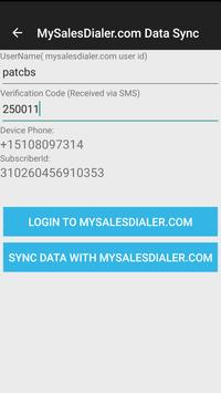 MySalesDialerPro screenshot 3