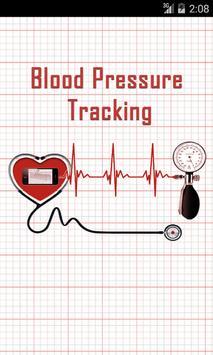 BLOOD PRESSURE TRACKER SYSTEM poster