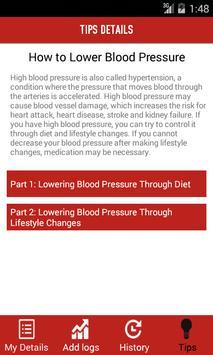 BLOOD PRESSURE TRACKER SYSTEM screenshot 7