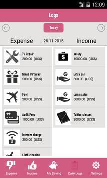 money tracking apk screenshot