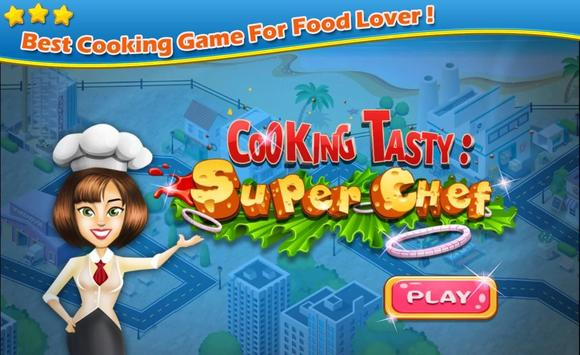 Cooking Tasty: Super Chef poster