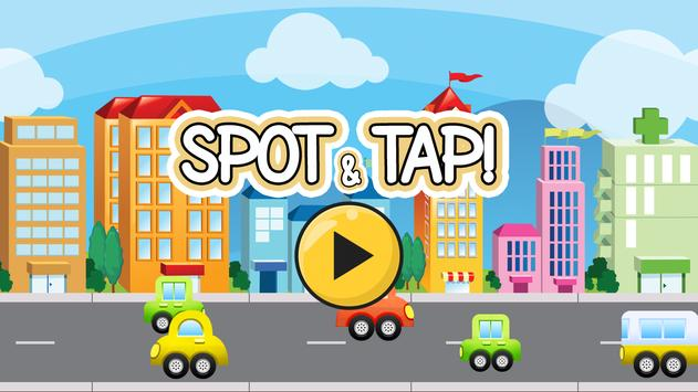 Spot and Tap! الملصق