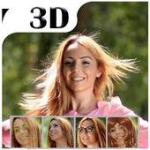 Convert Your Face Into 3D - 3D Virtual Face Maker icon