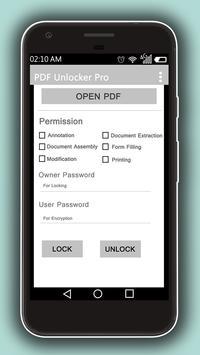 PDF Password Unlocker - Lock/Unlock PDF poster