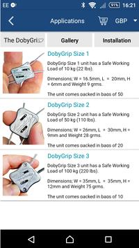 DobyGrip Wire (Cable) Suspension screenshot 1