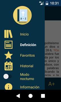 Diccionario Bíblico Pro apk screenshot
