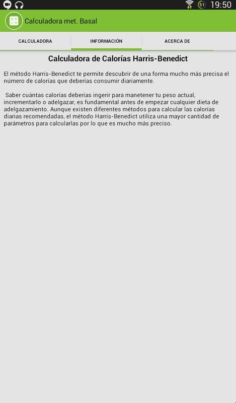 Calculadora metabolismo basal for Android - APK Download
