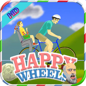 👽 HAPPY WHEELS NEW IMAGE ícone