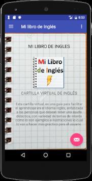 Mi libro de Inglés poster