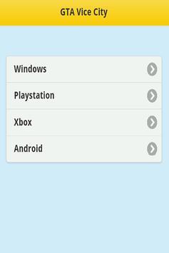 Cheats - GTA San Adreas apk screenshot
