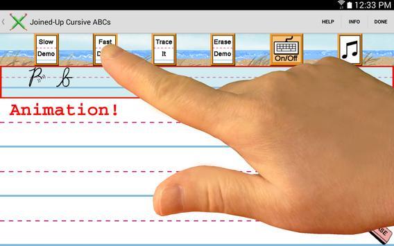 Demo - Joined-Up Cursive ABCs screenshot 3