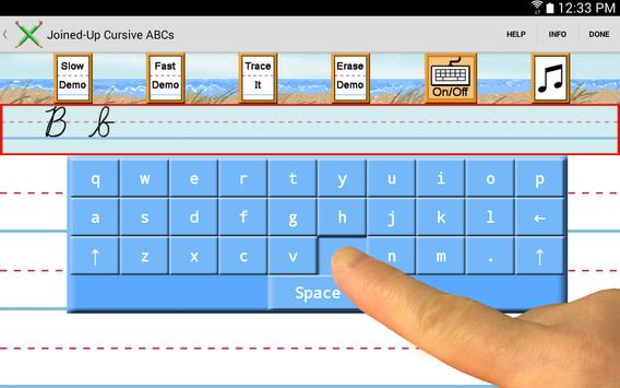 Demo - Joined-Up Cursive ABCs screenshot 2