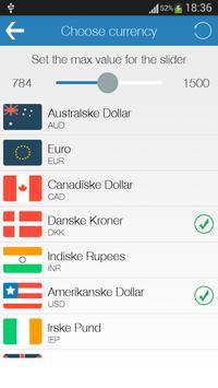 Valuta Omregning apk screenshot