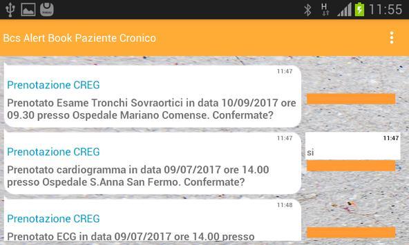 Bcs Alert Book Paziente Cronico screenshot 5