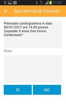 Bcs Alert Book Paziente Cronico screenshot 1