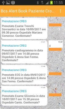 Bcs Alert Book Paziente Cronico screenshot 3
