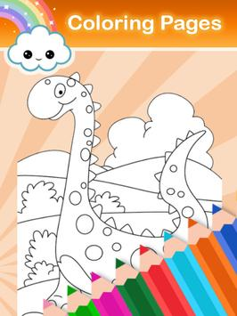 Coloring Game for my-dinosaurs screenshot 1