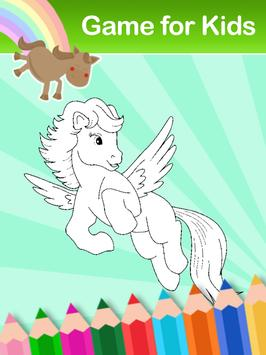 coloring book for little pony screenshot 11